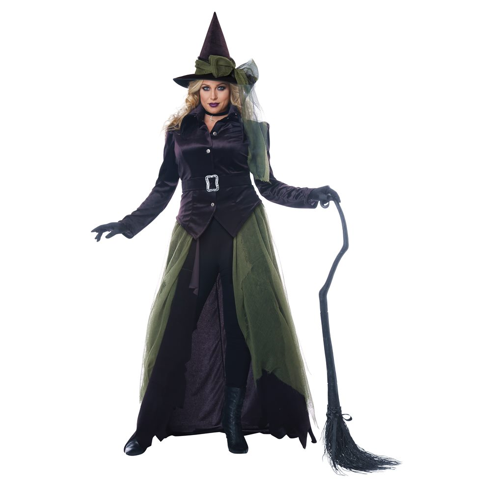 Picture of Gothic Witch Adult Womens Plus Size Costume