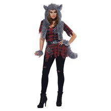 Picture of She-Wolf Adult Womens Costume