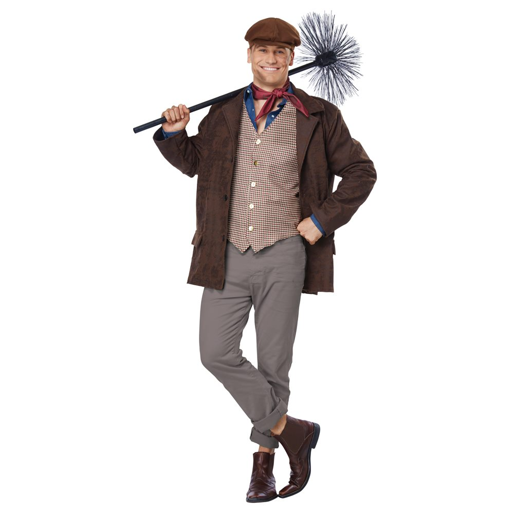 Picture of Chimney Sweeper Adult Mens Costume