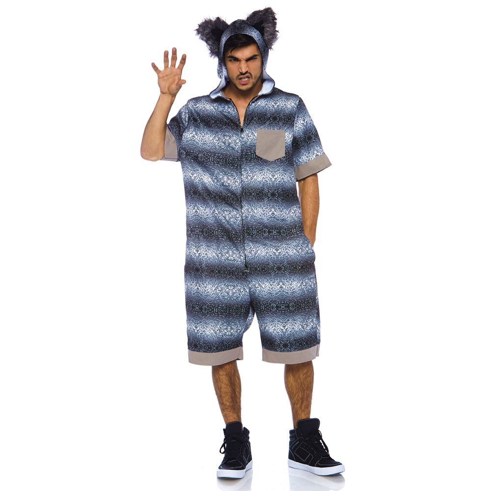 Picture of Big Bad Wolf Jumpsuit Adult Mens Costume