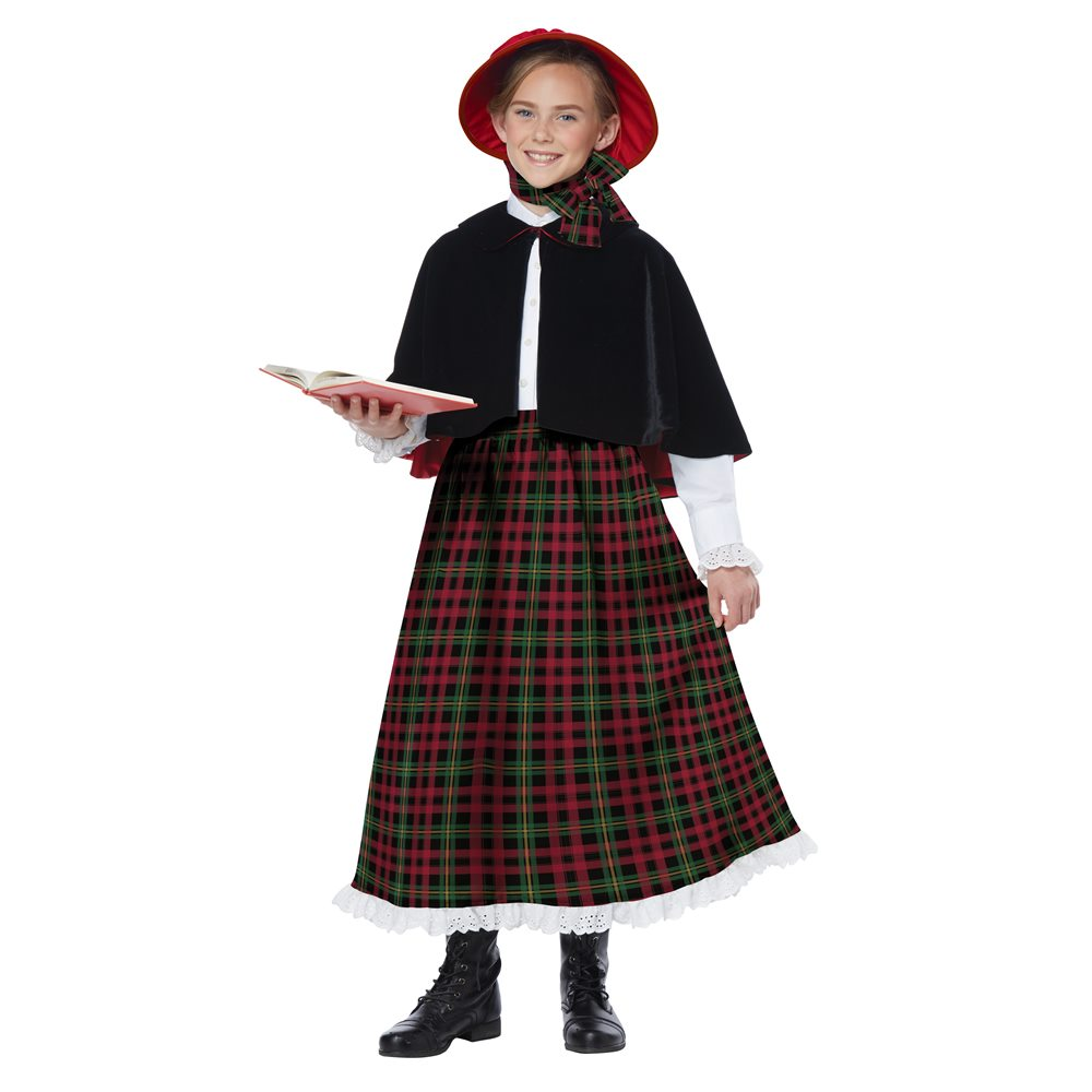 Picture of Holiday Caroler Girl Child Costume