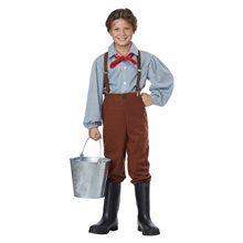 Picture of Colonial Pioneer Boy Child Costume