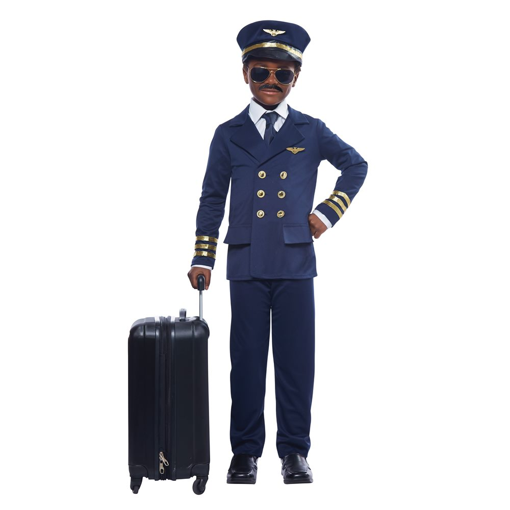 Picture of Airplane Pilot Child Costume