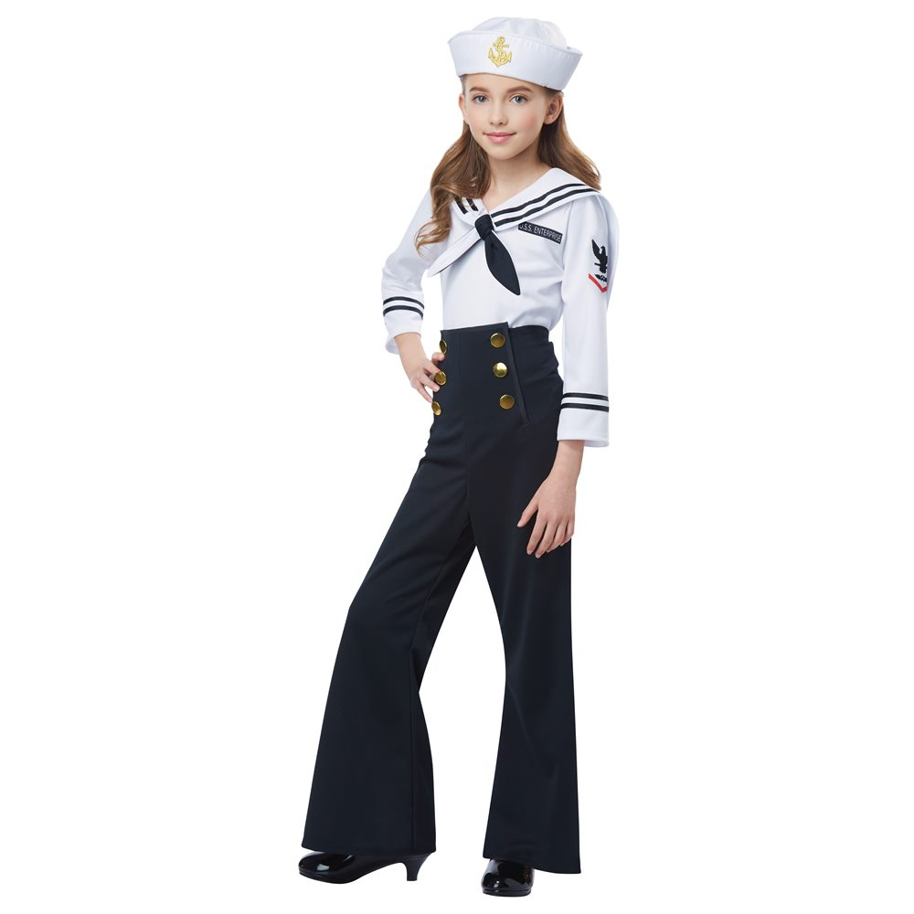 Picture of Navy Sailor Girl Child Costume