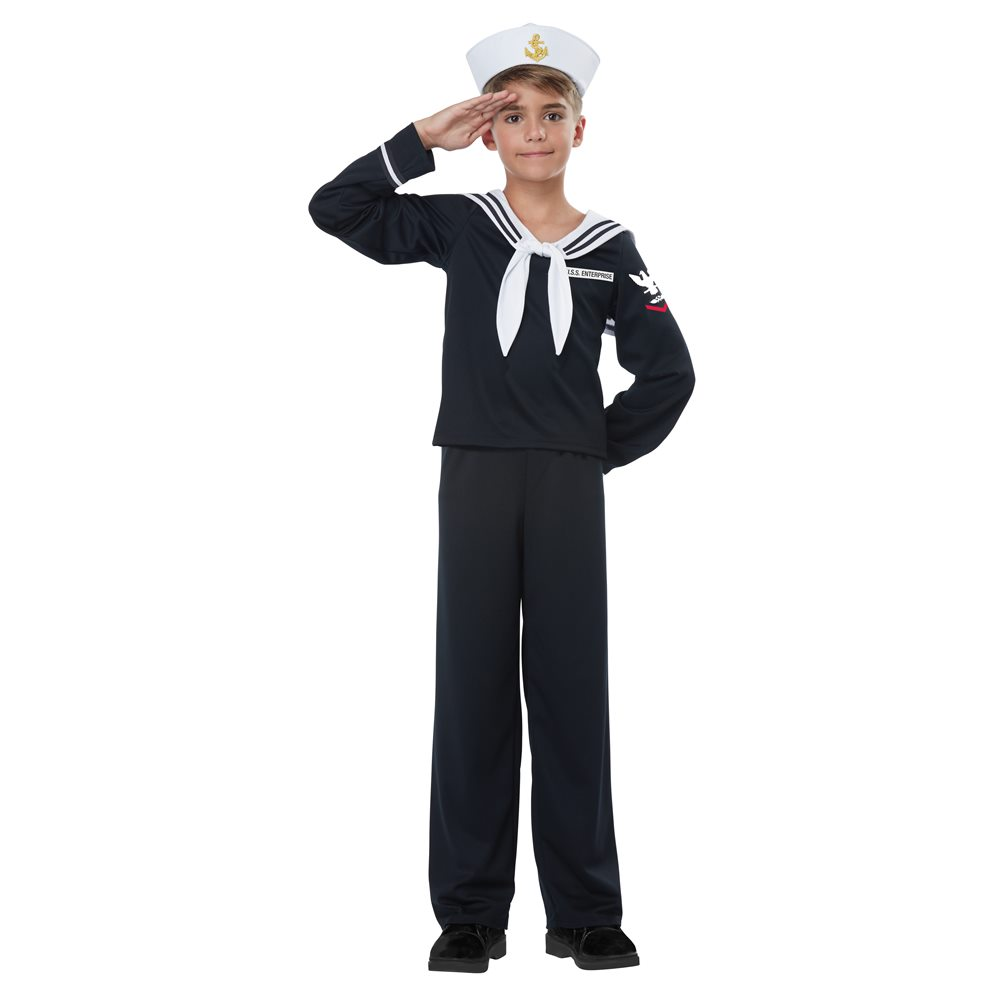 Picture of Navy Sailor Boy Child Costume
