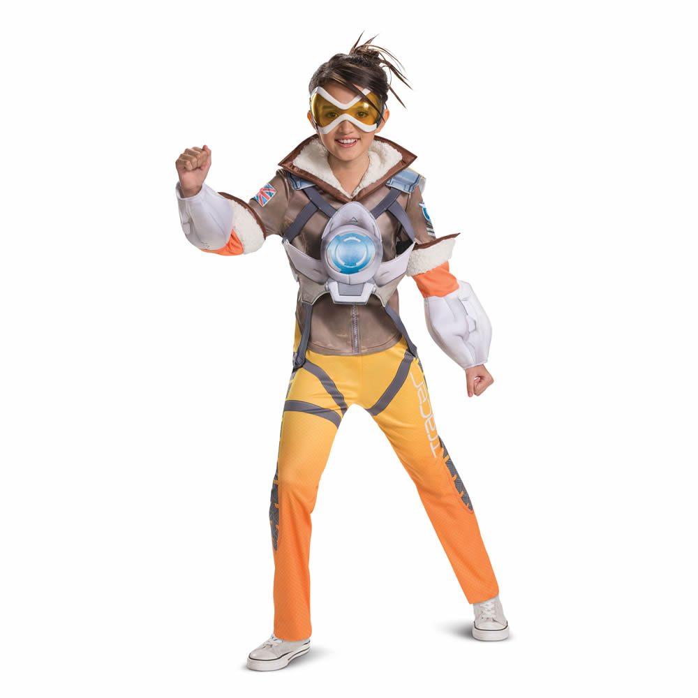 Picture of Overwatch Deluxe Tracer Tween Costume