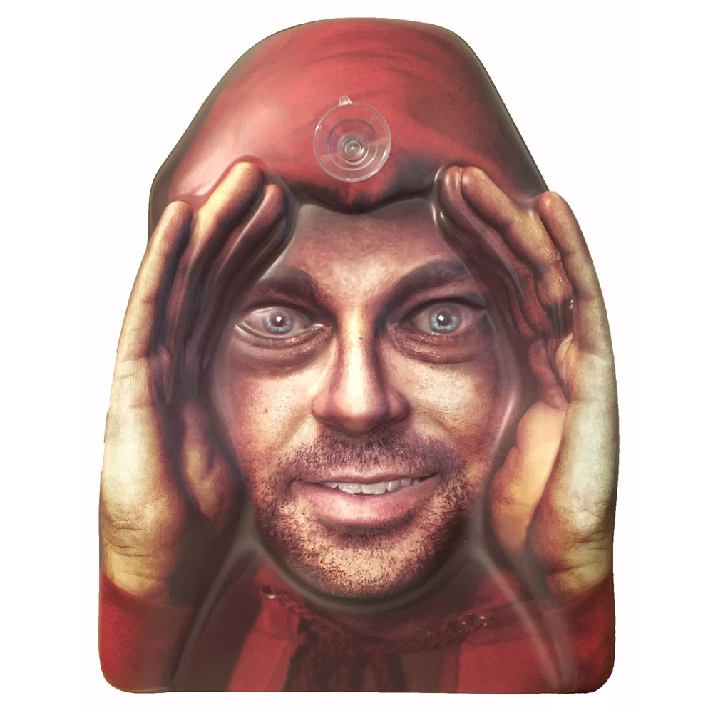 Picture of Scary Peeper Man Window Cling