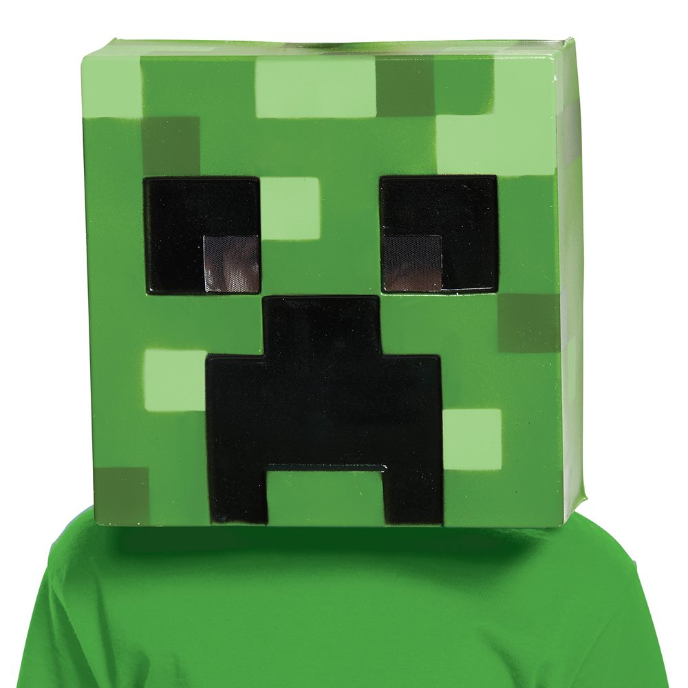 Picture of Minecraft Creeper Child Half Mask
