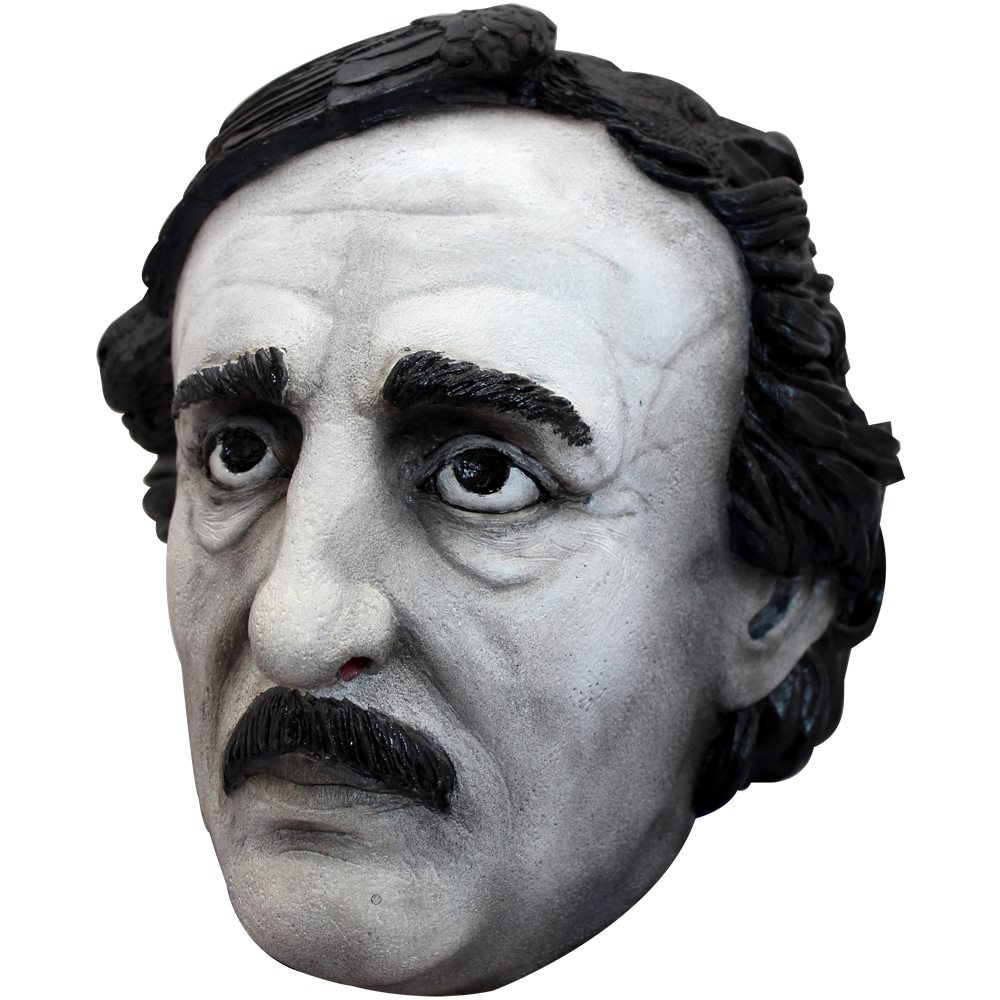 Picture of Dreary Edgar Allan Poe Mask
