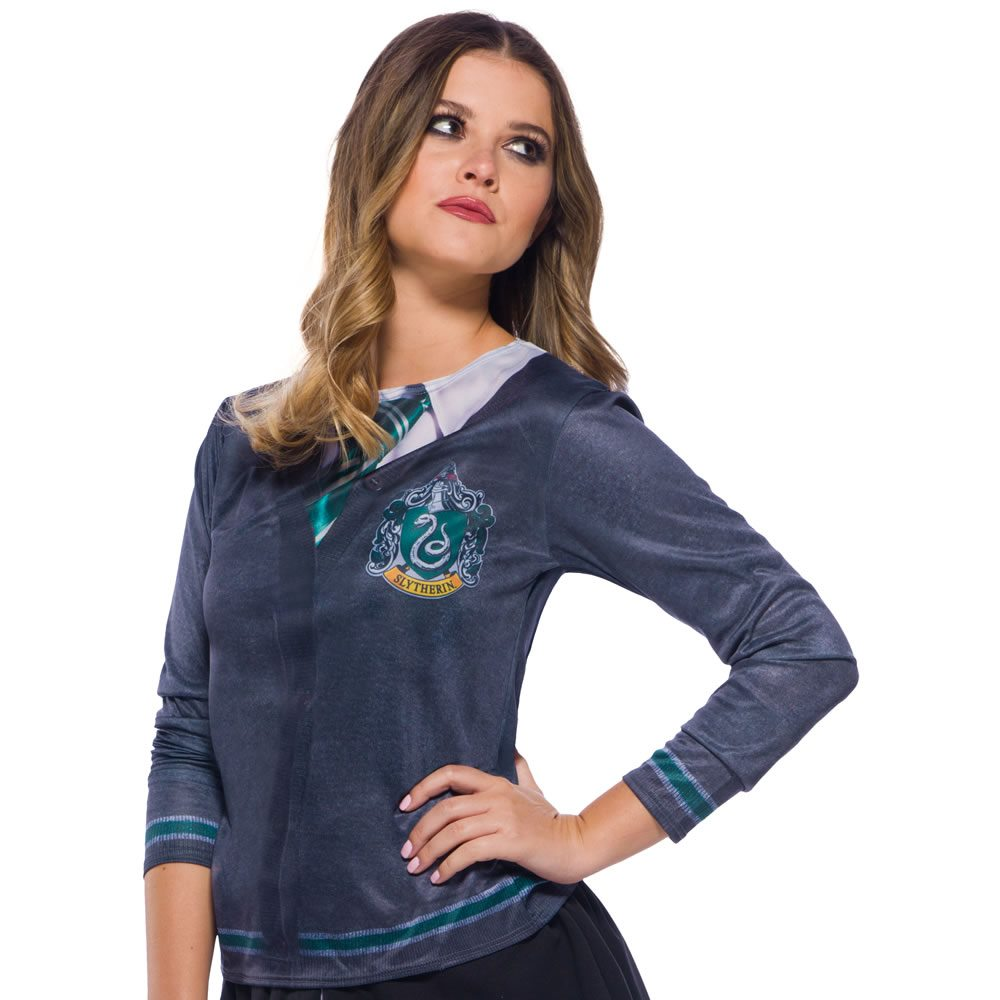 Picture of Harry Potter Slytherin Adult Womens Printed Top