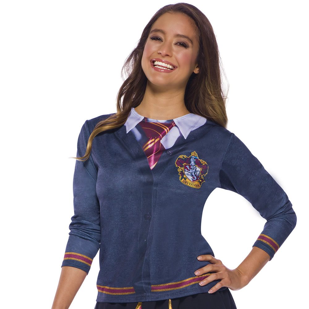 Picture of Harry Potter Gryffindor Adult Womens Printed Top