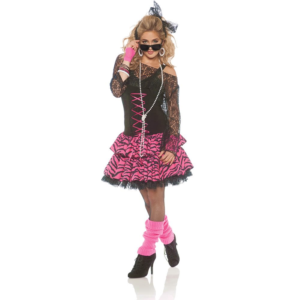 Picture of 80s Flashback Girl Adult Womens Costume
