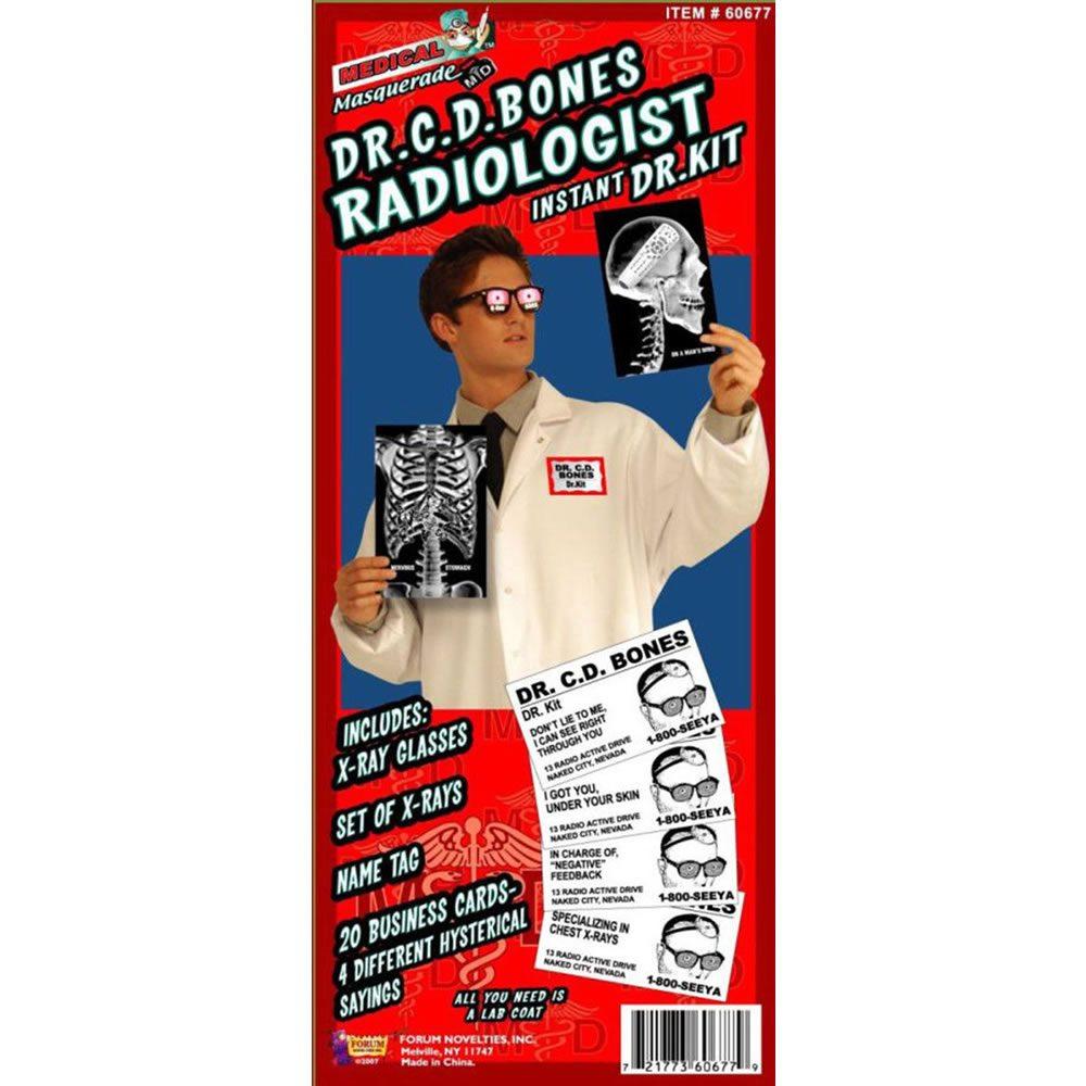Picture of Dr. C.D. Bones Radiologist Kit