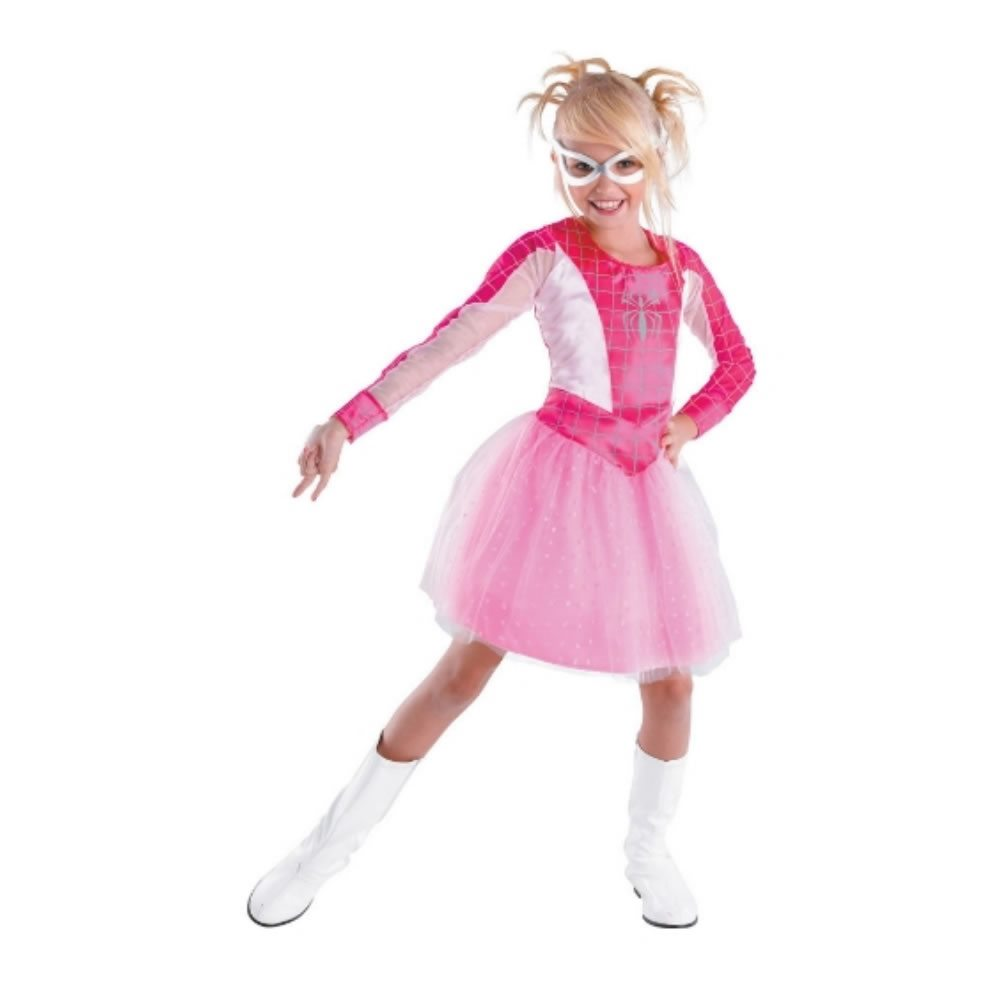 Picture of Pink Spider-Girl Glow Child Costume