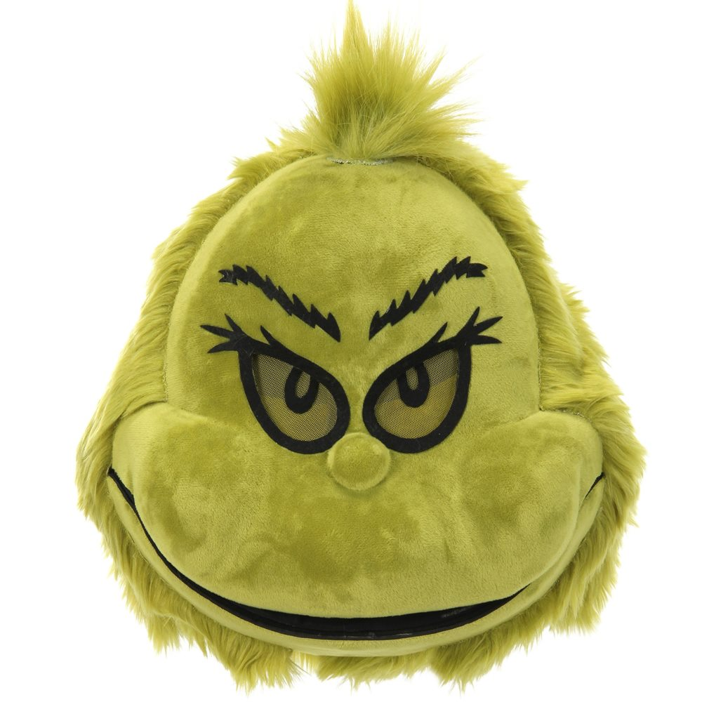 Picture of The Grinch Mouth Mover Furry Mask