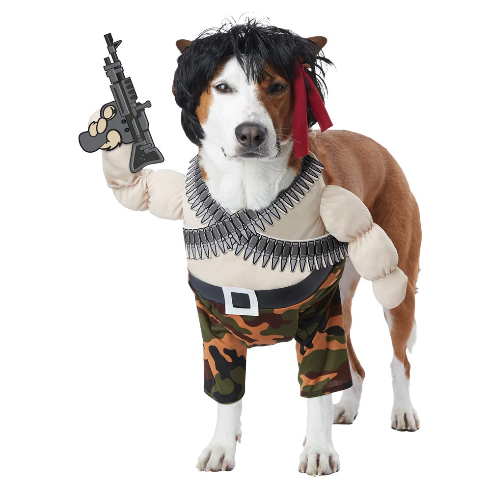 Picture of Action Hero Pet Costume