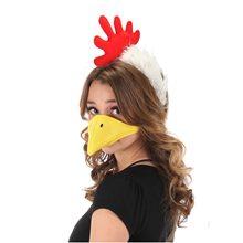 Picture of Chicken Plush Beak & Headband Set
