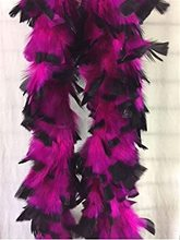 Picture of Fuchsia & Black Feather Boa (Coming Soon)