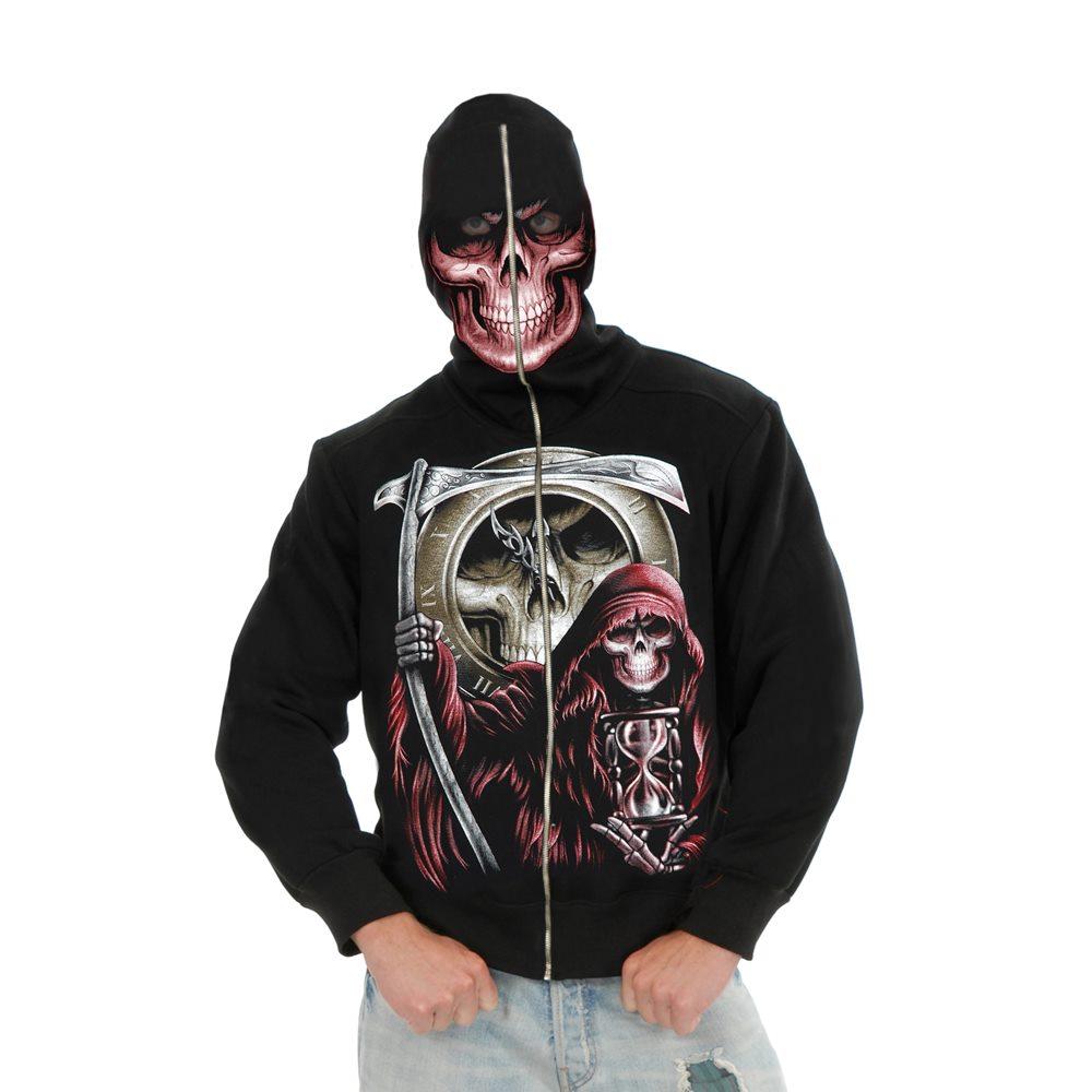 Picture of Grim Reaper Adult Mens Hoodie