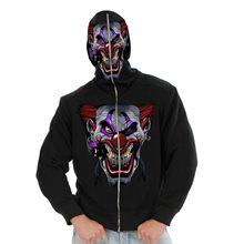 Picture of Evil Clown Adult Mens Hoodie