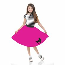 Picture of Fuchsia Child Poodle Skirt