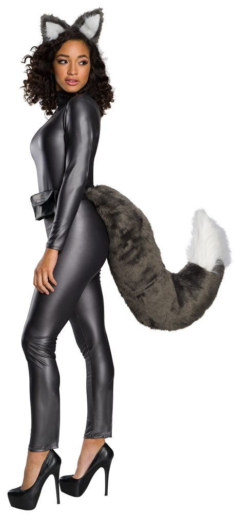 Picture of Deluxe Wolf Ear & Tail Set