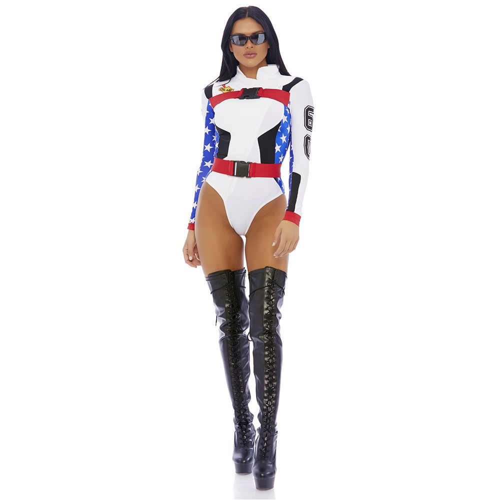 Picture of Step On It Sexy Motocross Adult Womens Costume