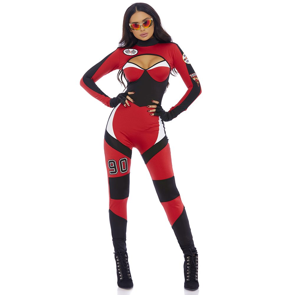 Picture of Green Light Sexy Motocross Adult Womens Costume