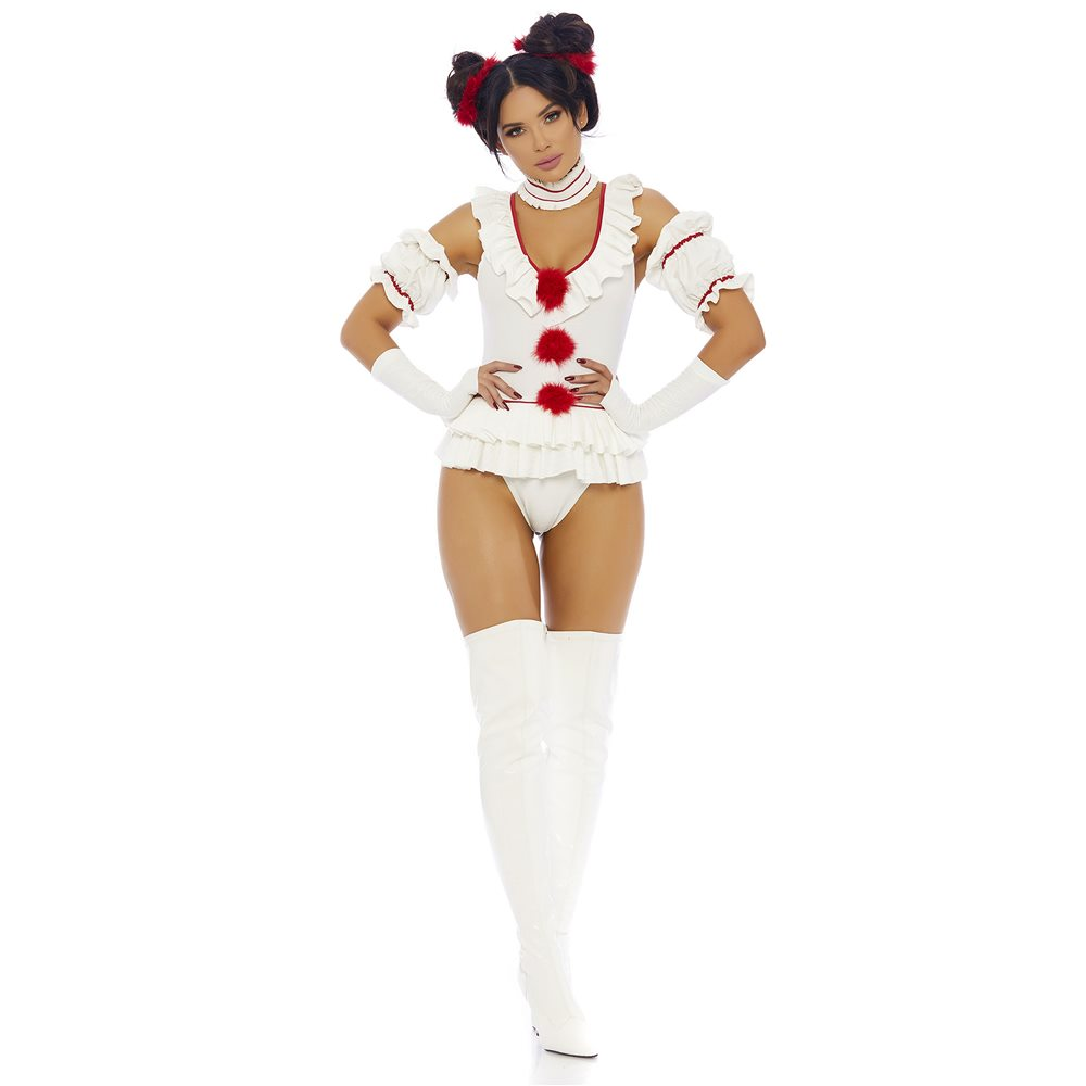 Picture of Let's Play Beauty Clown Adult Womens Costume