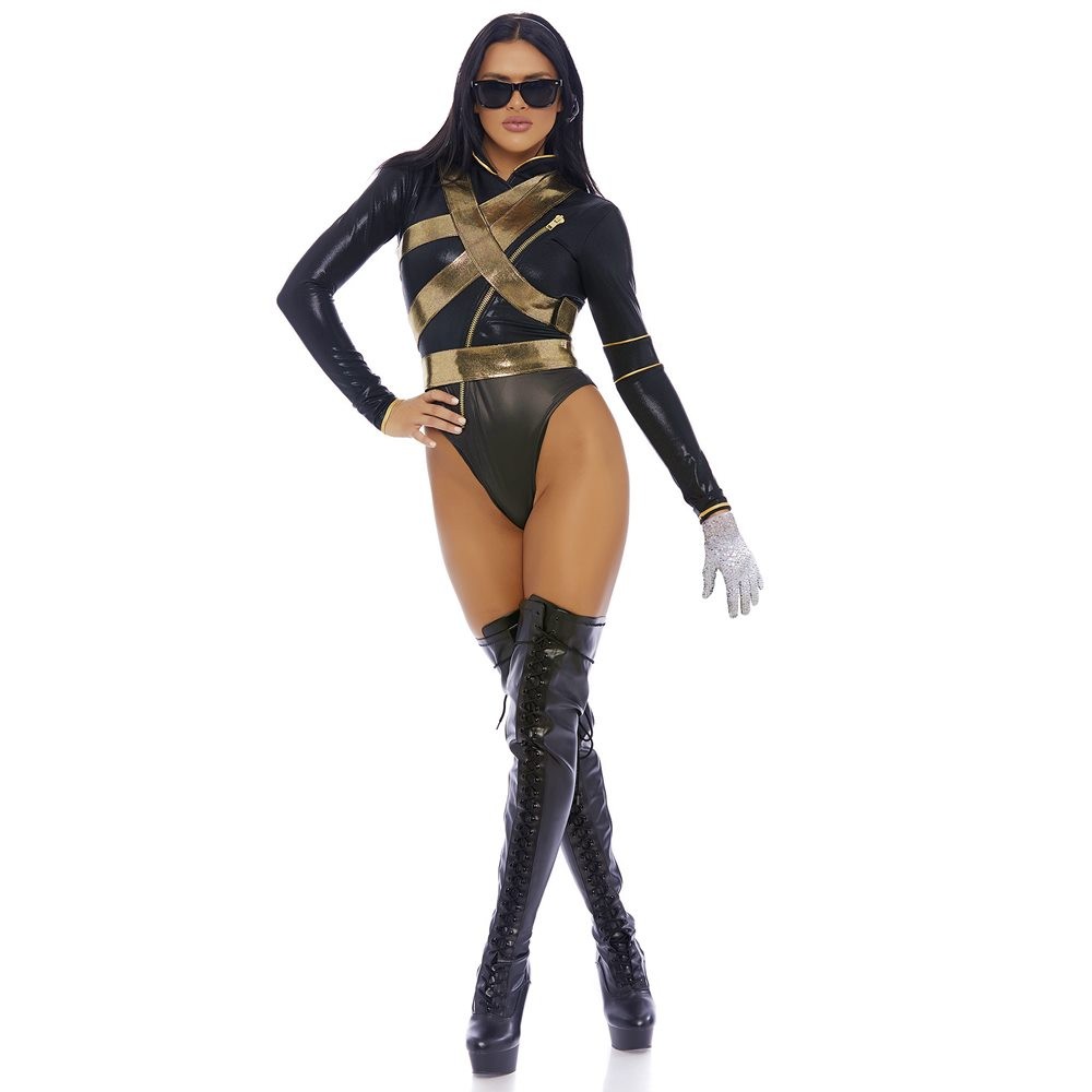 Picture of I'm Bad Sexy Superstar Adult Womens Costume