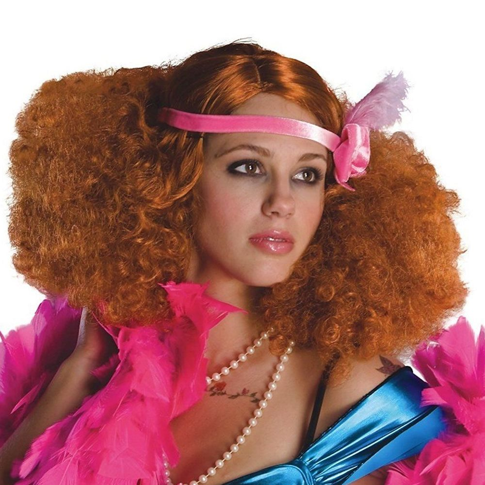 Picture of Burlesque Red Wig with Headband