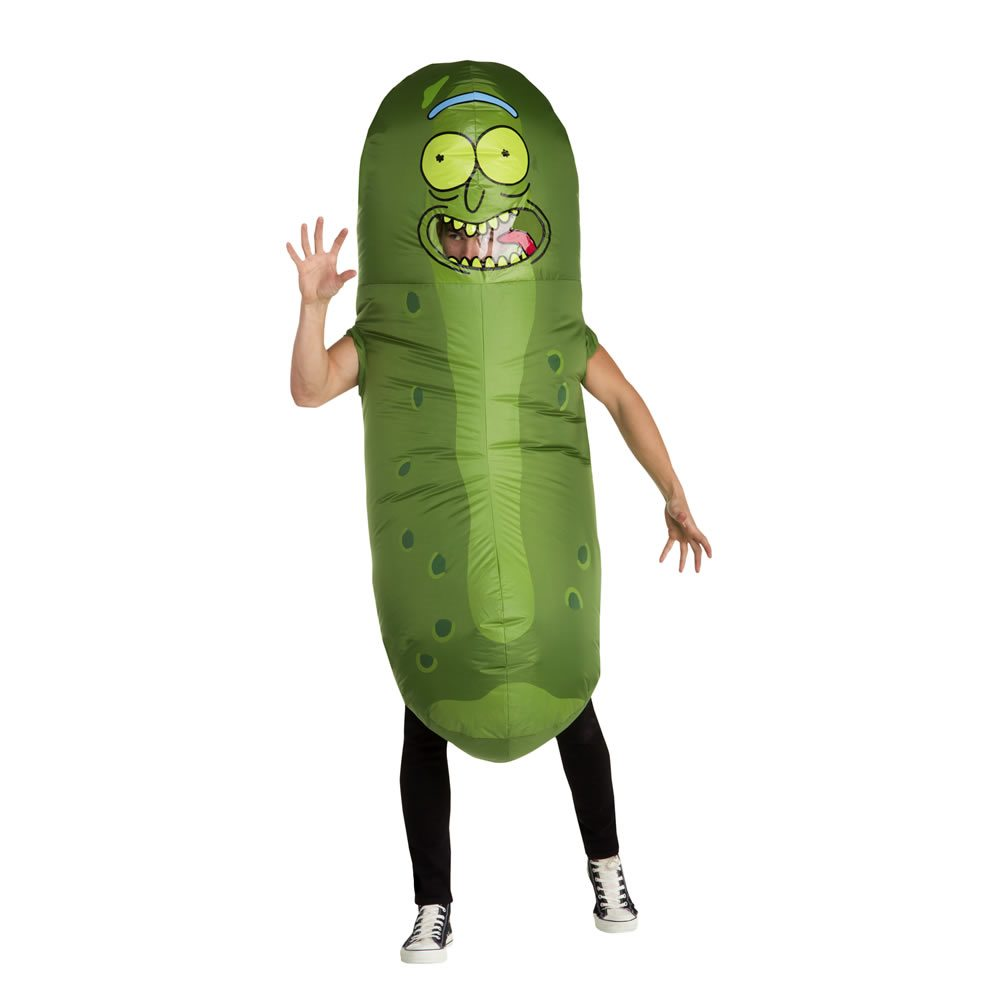 Picture of Pickle Rick Inflatable Child Costume