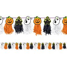 Picture of Family Friendly Halloween Tissue Garland