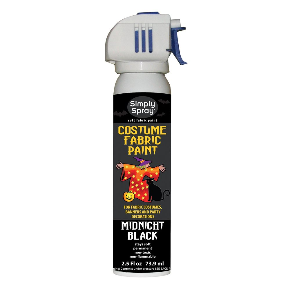 Picture of Midnight Black Costume Fabric Spray