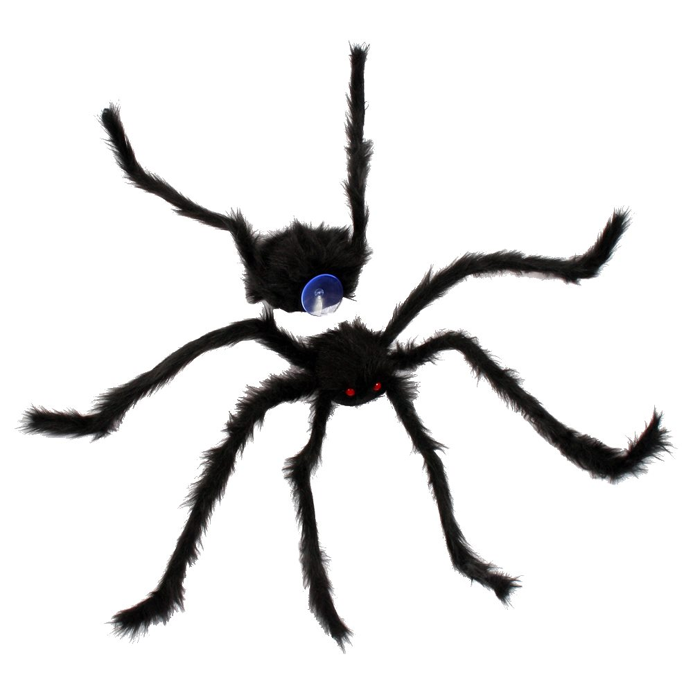 Picture of Black Spider Crasher Window Cling