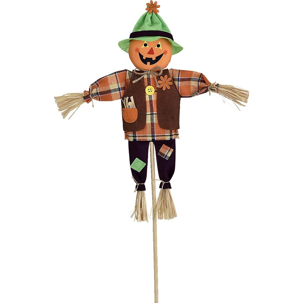 Picture of Friendly Jack-O-Lantern Yard Stake 2ft