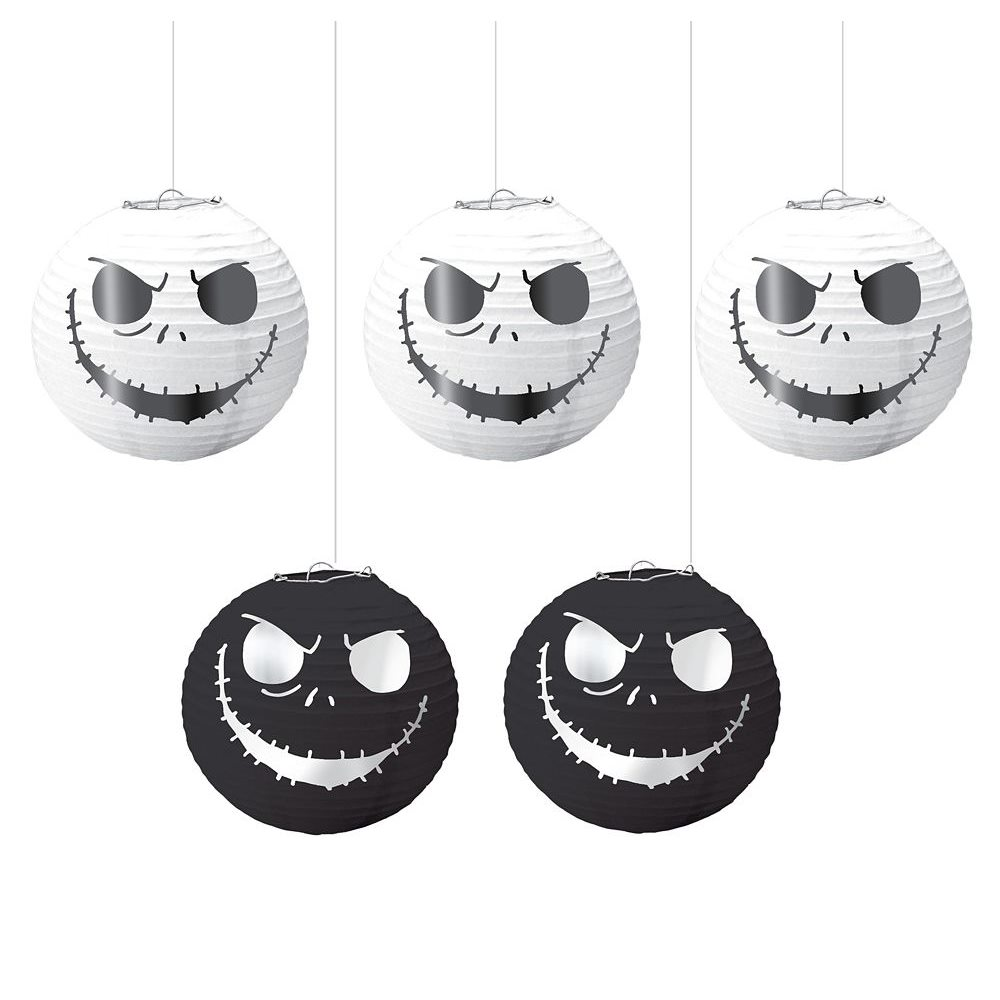 Picture of Nightmare Before Christmas Mini Lanterns 5ct