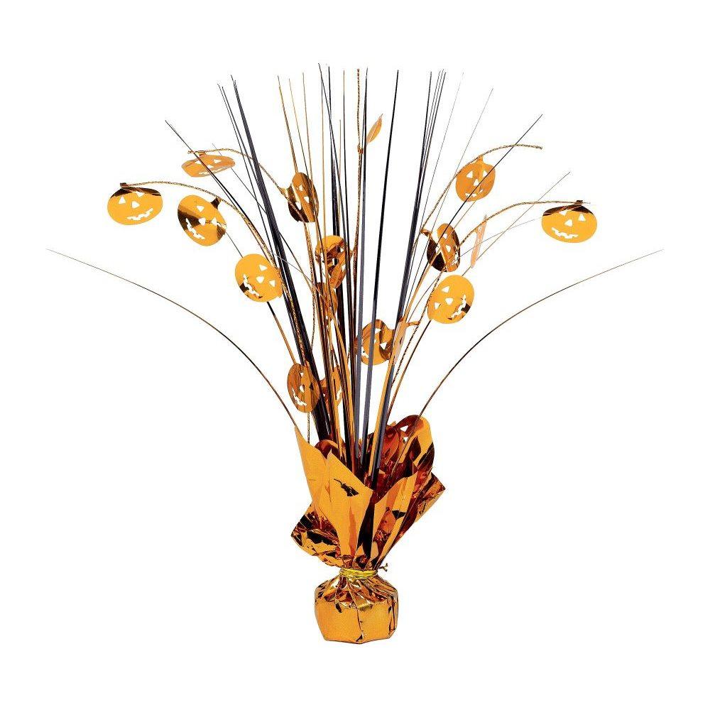 Picture of Pumpkin Foil Spray Centerpiece
