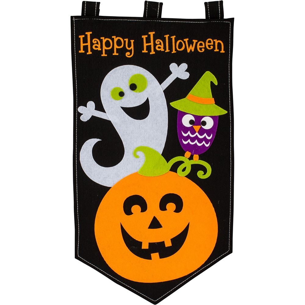Picture of Family Friendly Halloween Felt Door Banner
