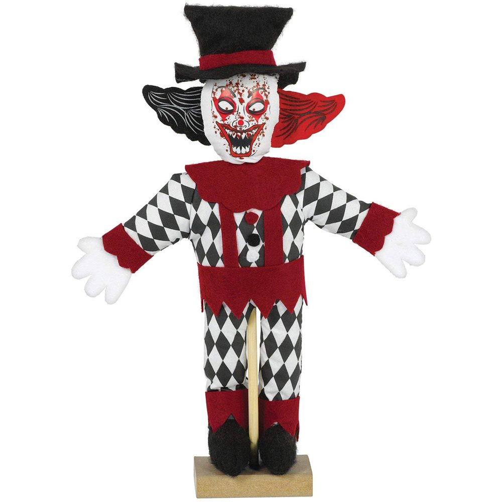 Picture of Haunted Clown Mini Prop 12in