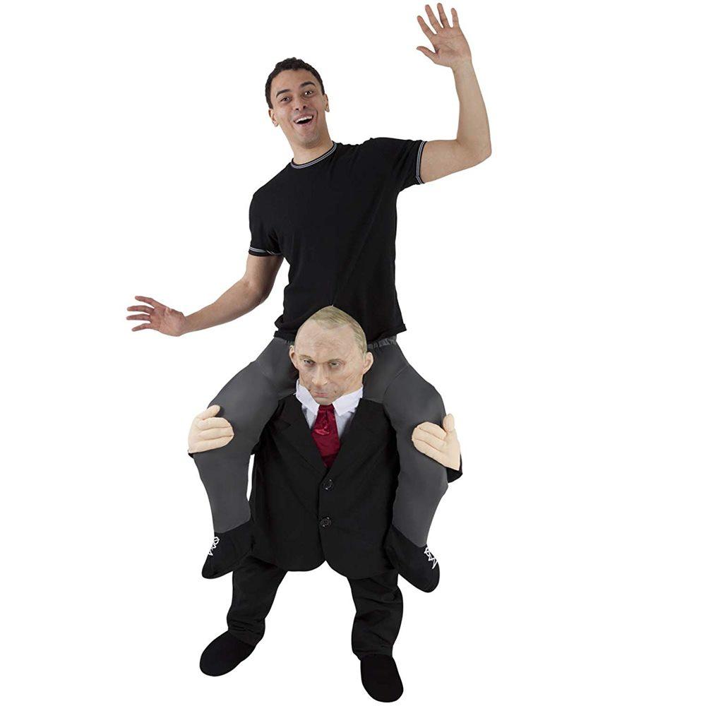 Picture of Putin Piggyback Adult Unisex Costume