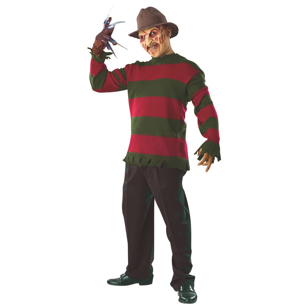 Picture of Freddy Krueger Deluxe Child Sweater & Mask Set