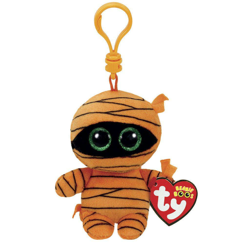 Picture of Orange Mummy Beanie Boo Clip