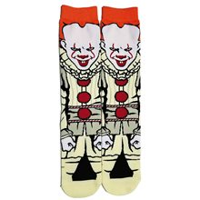 Picture of It the Movie Pennywise Socks