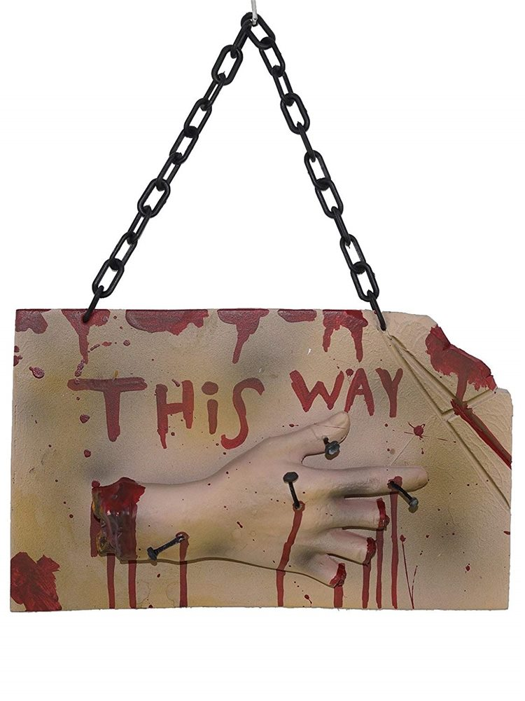 Picture of This Way Bloody Sign (Coming Soon)