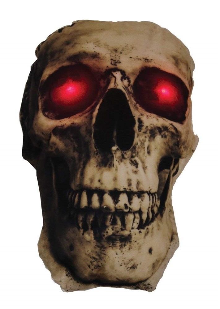 Picture of Skull Light-Up Pillow (Coming Soon)