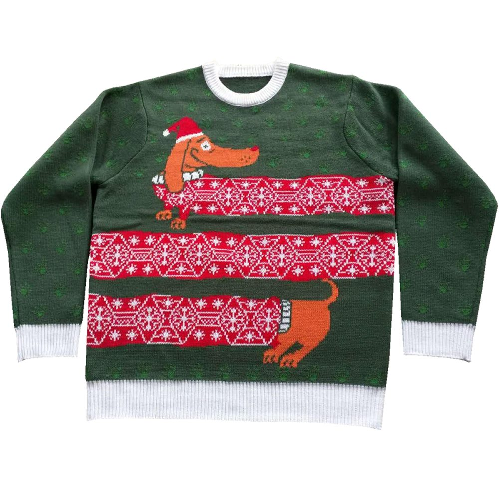 Picture of Wienter is Here Adult Ugly Christmas Sweater