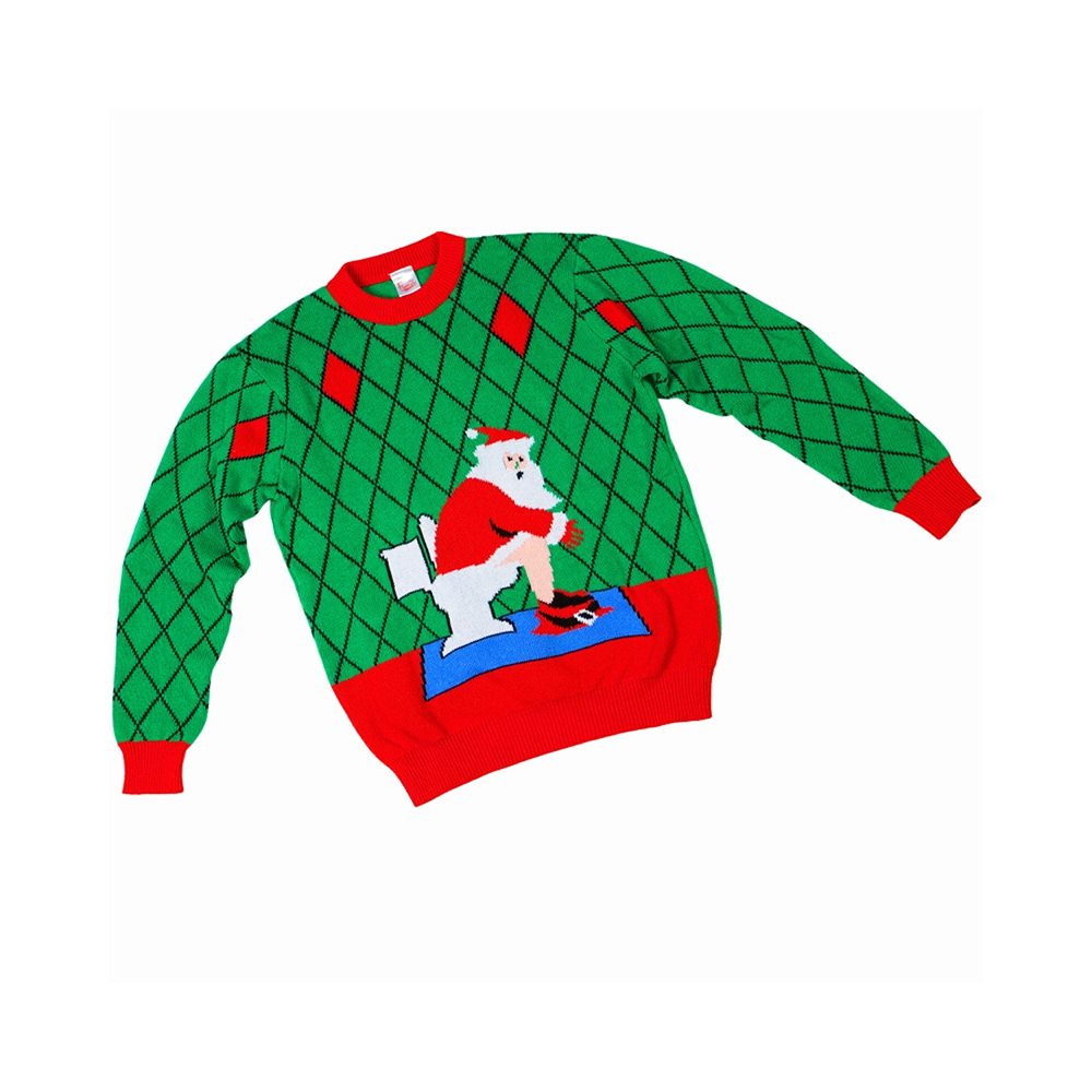 Picture of Toilet Santa Child Ugly Christmas Sweater