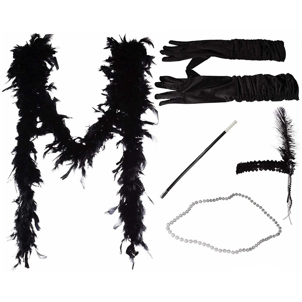 Picture of Black Flapper Instant Costume Kit