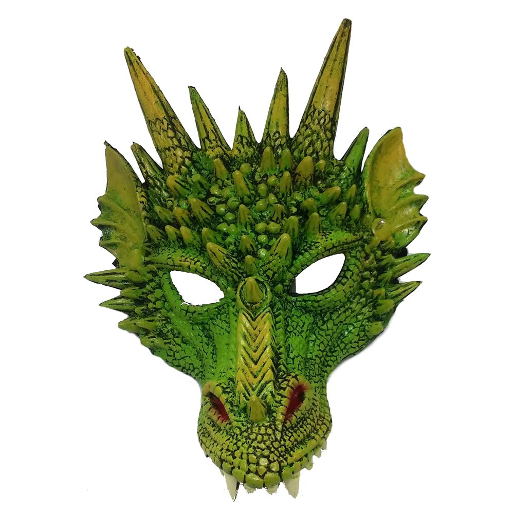 Picture of Green Dragon Face Mask